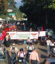 Diversas protestas han surgido en el país contra las empresas de electricidad, en otros casos las compañías denuncias robos y impago. (Foto, Prensa Libre: Hemeroteca PL).