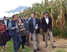 Uno de los programas que apoya USAID mediante el cual beneficia a agricultores. (Foto: USAID)