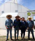Jóvenes fundaron una empresa para producir tomate en las instalaciones del Itagro. (Mike Castillo)