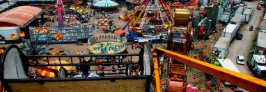 L,a Feria Centroamericana de la Independencia se llevará a cabo este año del 10 al 22 de septiembre. ( Foto Prensa Libre: Hemeroteca PL)