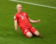 El holandés Arjen Robben le puso punto y final a su carrera como futbolista (Foto Prensa Libre: AFP)