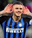 Mauro Icardi podría dejar al Inter de Milán. (Foto Prensa Libre: Hemeroteca PL)
