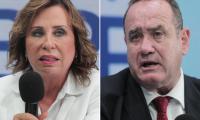 Sandra Torres y Alejandro Giammattei buscan ganar la Presidencia en los comicios del 11 de agosto del 2019. (Foto Prensa Libre. Hemeroteca PL)