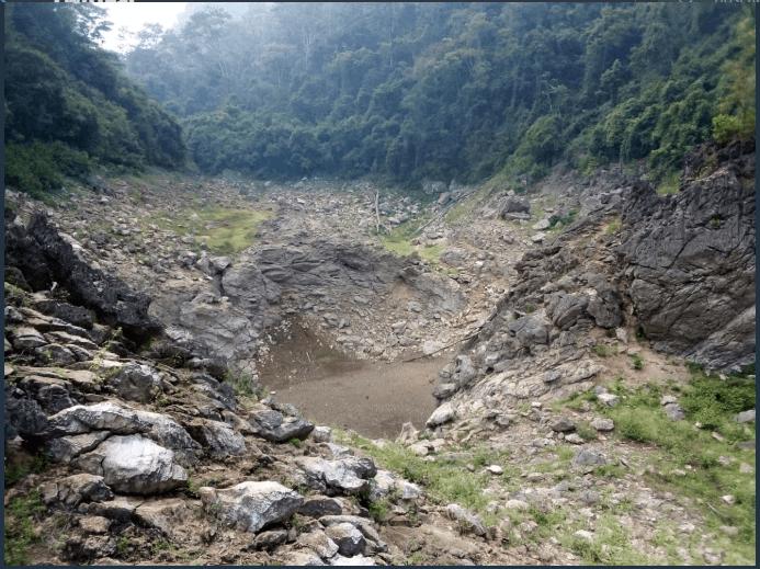 ¿Qué pasa cuando un río se seca?
