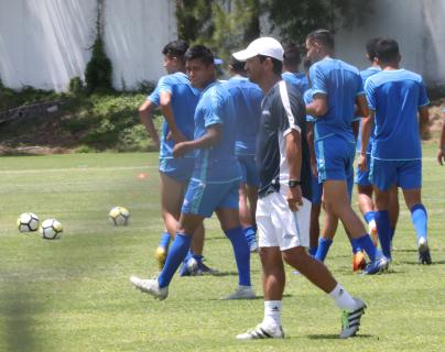 La Selección Sub 23, dirigida por Érick González, se medirá el miércoles a Costa Rica. (Foto Prensa Libre: Francisco Sánchez)
