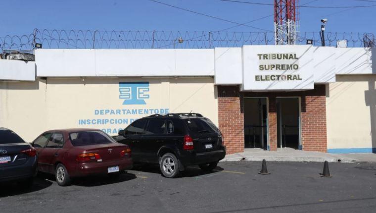 Las oficinas de Informática del TSE se encuentran en la zona 12 capitalina. (Foto HemerotecaPL)