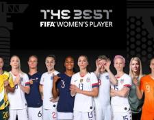 Ellas son las candidatas a la Mejor Jugadora de la temporada. (Foto Prensa Libre: Fifa)