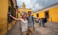 Antigua Guatemala, recibió 367 mil 423 viajeros, que representarían el 33% del total de viajes a destinos del país. (Foto, Prensa Libre: Inguat).