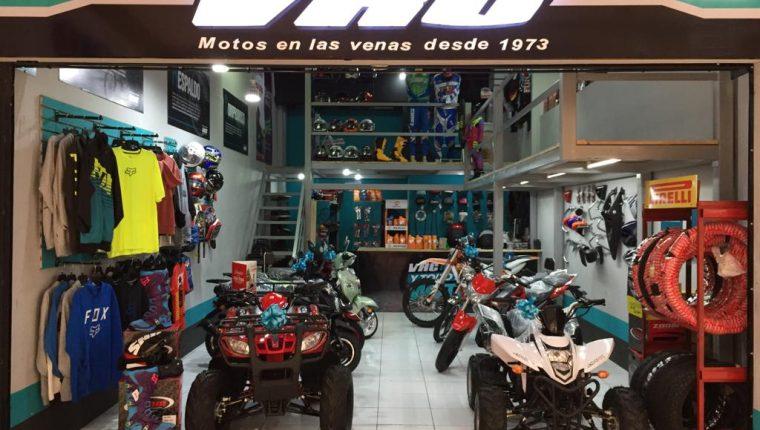 La empresa Motoshop VRC posee más de 60 tiendas tanto en la modalidad de operación directa y franquicias. (Foto, Prensa Libre: Motoshopvrc.com).