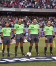 Mario Escobar Toca fue el árbitro de la final de la Copa Oro 2019. (Foto Prensa Libre: Wilfredo Girón)