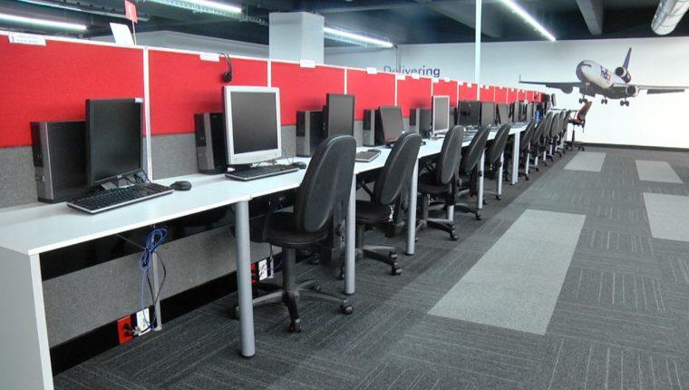 La empresa espera llegar a las 1500 plazas en el corto plazo. Se ubica en la zona 13. (Foto Prensa Libre: Claudia Martínez)