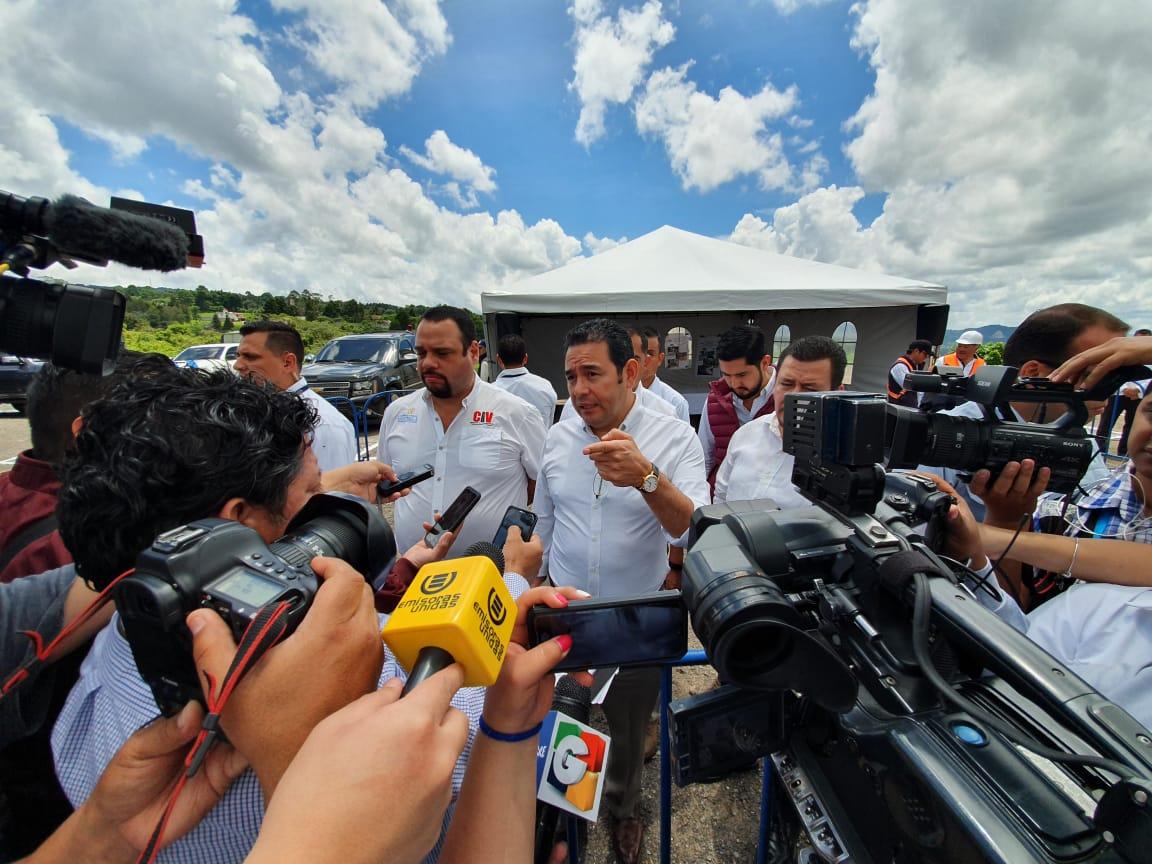 Esto dijo Jimmy Morales sobre los aviones Pampa III y la crisis migratoria