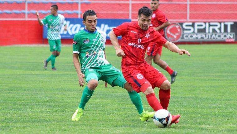 En el último juego disputado este miércoles 17 de julio el equipo quetzalteco venció 8-3 a Plataneros. (Foto Prensa Libre: Raúl Juárez)