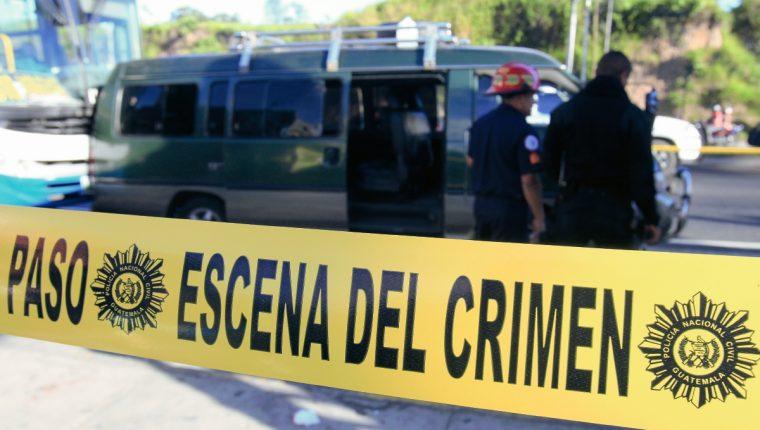 Guatemala se mantiene entre los países con mayor tasa de violencia. (Foto Prensa Libre: Hemeroteca)