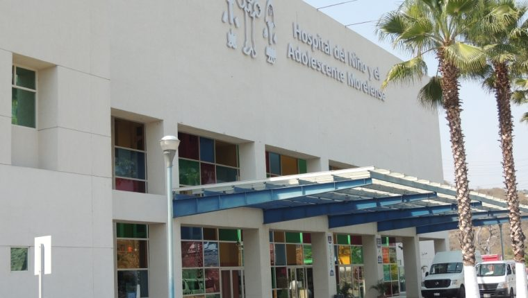 Fachada del Hospital del Niño Morelense (HNM). (Foto Prensa Libre: La Unión de Morelos).