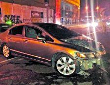 Los accidentes y las faltas de conductores fueron constantes en julio, según la PMT.(Foto Prensa Libre: Hemeroteca PL)