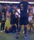 Marco Asensio se lesionó la rodilla en el partido del Real Madrid contra el Arsenal. (Foto Redes)