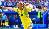 La futbolista sueca Kosovare Asllani se convirtió en el primer fichaje del futuro Real Madrid femenino. (Foto Prensa Libre: instagram.com/asllani9)