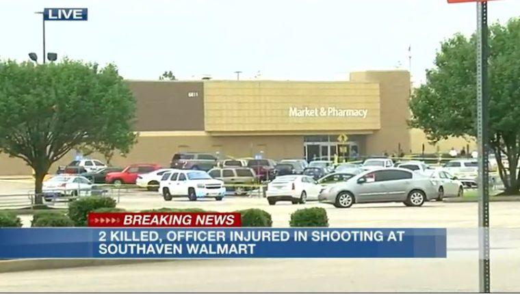 El tiroteo se registró dentro de un supermercado en el estado de Misisipi. (Foto Prensa Llibre: Captura de Pantalla/  WMC News)