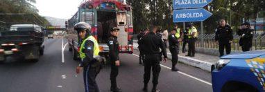 Los ataques habrían sido originados por asaltos a pasajeros. (Foto Prensa Libre: Dalia Santos)