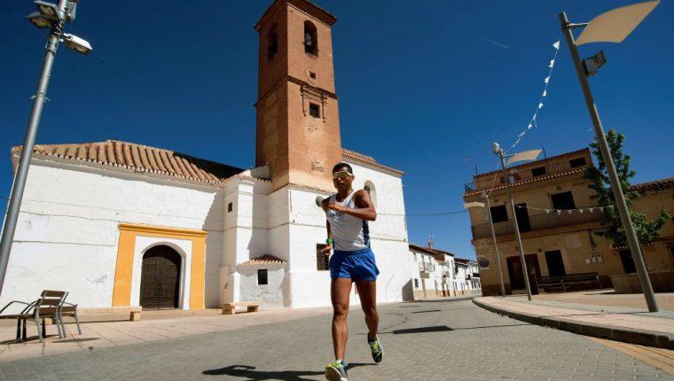Barrondo se encuentra en Guadix, isla de Granada, entrenando para los Juegos Panamericanos. (Foto Prensa Libre: EFE)