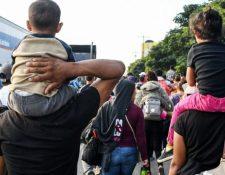 Las detenciones y el endurecimiento de las medidas migratorias no detienen la ola de desplazados en el país. (Foto referencial: Hemeroteca PL)