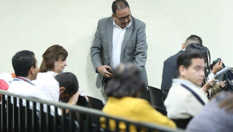 Sammy Morales es uno de los 25 acusados en este caso. (Foto Prensa Libre: Esbin García)
