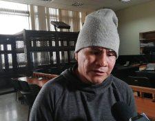 Samuel Aceituno Juárez estuvo en prisión tres años, dos meses y 24 días. (Foto Prensa Libre: Kenneth Monzón)