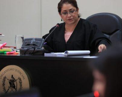 Claudette Domínguez, jueza del Juzgado de mayor Riesgo A. (Foto Prensa Libre: Hemeroteca)