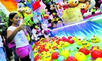 Rostros, colores, sabores y diversión en la Feria del Cerrito en honor a la Virgen del Carmen.   ÓSCAR RIVAS   16 07 2018