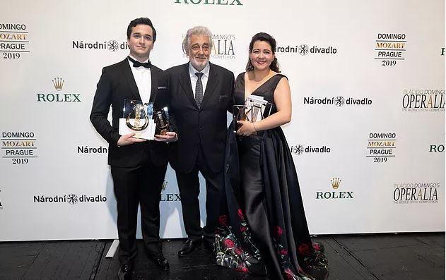Cantante guatemalteca Adriana González gana el concurso de ópera mundial Operalia