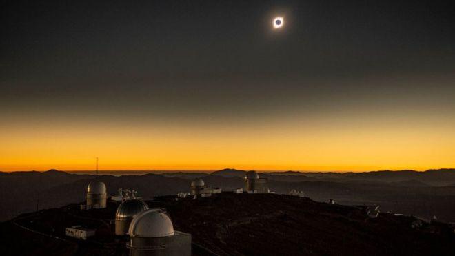 Vivir un eclipse en directo es una experiencia inolvidable. (GETTY IMAGES)