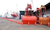 Puerto Santo Tomás de Castilla en Izabal es el segundo puerto más importante del país y en el primer semestre del año el movimiento de mercancías incremento 4% con respecto al mismo período del año pasado. (Foto Prensa Libre: Hemeroteca)