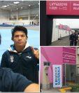 Vega y su entrenador Murga compartieron algunas fotografías de su estadía en Lima, Perú. (Fotos COG).