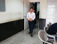 El exdetective policial, Marvin Estuardo Alfaro Bravo, alias Stuard. (Foto Prensa Libre: Kenneth Monzón)