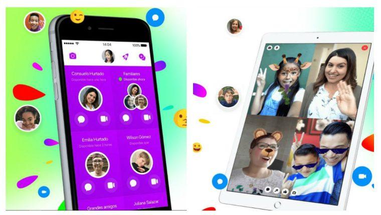 Messenger Kids de Facebook permitió a los niños enviar mensajes a personas que no habían sido aprobadas por sus padres. (Foto Prensa Libre: messengerkids.com)