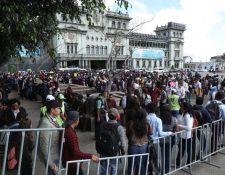 La nueva edición de la Feria de Empleo en Tu Zona arrancará en la Plaza de la Constitución, Zona 1. (Foto Prensa Libre: Hemeroteca)