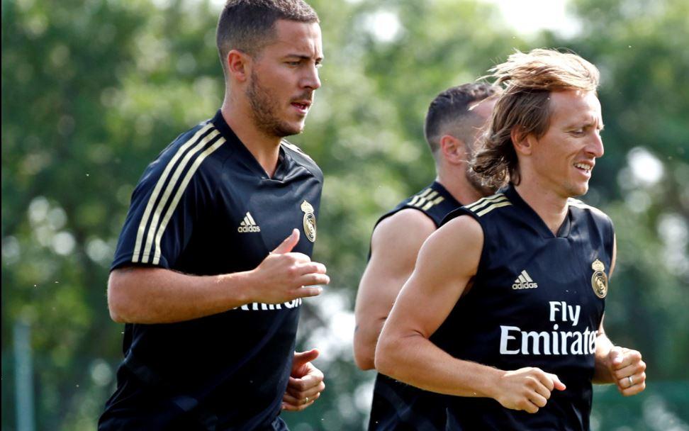 Luka Modric se reincorpora a los entrenamientos en Montreal