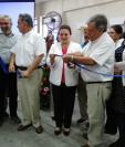 Personeros de Pro Ciegos y ACOGUA Inauguran hospital de ojos y oídos en Barberena, Santa Rosa. Foto Cortesía
