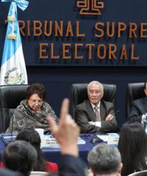 TSE: Listado de diputados electos para el Congreso de Guatemala 2019
