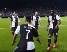 Konami hizo oficial la adquisición de los derechos para que la Juventus esté disponible en PES 2020. (Foto Prensa Libre: Youtube PES)