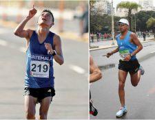 William Julajuj y Juan Carlos Trujillo se unieron al contingente que estará en las justas de Lima. (Foto Hemeroteca PL).