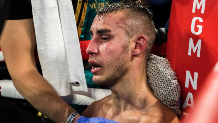 Maxim Dadashev (Free press photo: CBS Sports).