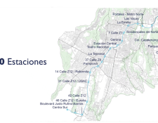 Se espera que en el 2021 comience la construcción de la infraestructura del metroriel.(Foto Prensa Libre: cortesía)