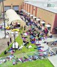 Los migrantes de El Salvador, Guatemala y Honduras sufren por las las pandillas en EE. UU. (Foto Prensa Libre: Hemeroteca PL)
