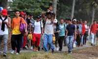 Cada año miles de hondureños salen de su país con la intención de llegar a EE. UU. (Foto Prensa Libre: Hemeroteca PL)