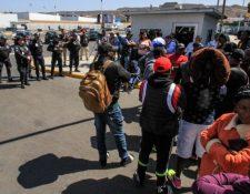 Las autoridades estadounidenses comenzarán con el programa de repatriación para migrantes. Imagen con fines ilustrativos. (Foto Prensa Libre: Hemeroteca PL)