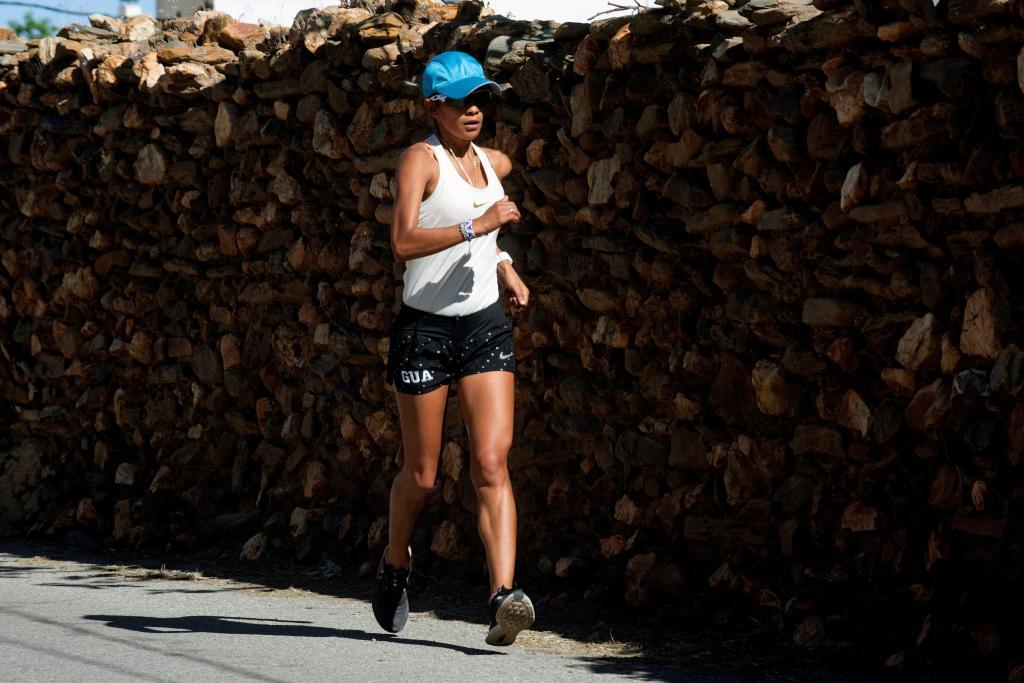 """Mirna Ortiz se recupera de la lesión que la descalificó en Toronto 2015: """"Hay que ser de otro planeta para hacer 50 kilómetros marcha"""""""