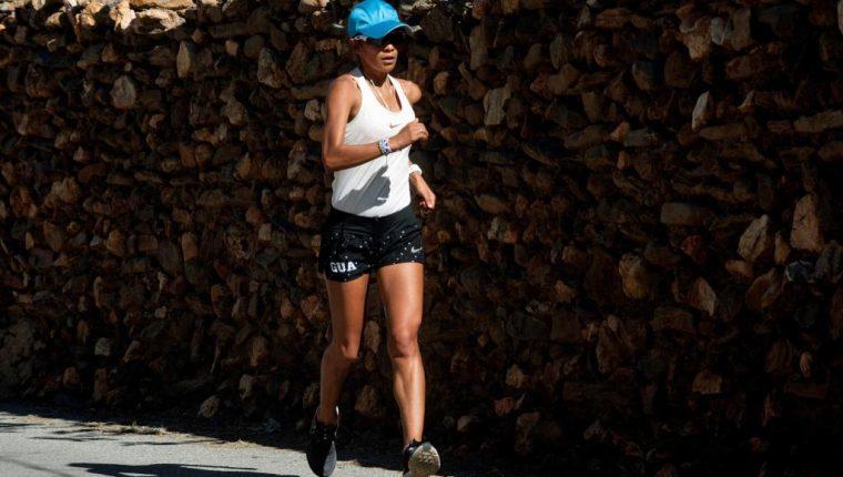 Mirna Ortiz es una de las grandes esperanzas de medalla de Guatemala en los próximos Juegos Panamericanos. (Foto Prensa Libre: EFE)