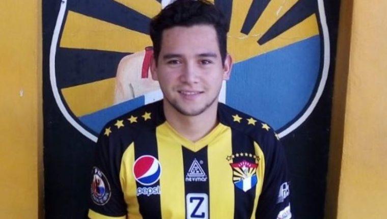 José Manuel Morales jugará con Aurora FC en la Primera División para el Apertura 2019. (Foto Club Aurora FC).
